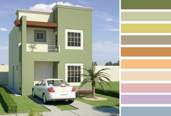 Aumenta el valor de tu casa con pintura americana para - Pinturas para casas exteriores ...